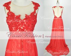 2014 Prom Dress Lace Beading Floor Length Prom Dresses, Bridesmaid Dresses, Wedding Dress, Evening Dress,Party Dress,Formal Dress on Etsy, $189.00