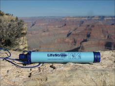 The LifeStraw Personal water filter removes of waterborne bacteria and of waterborne protozoan parasites to leave your water safe to drink Shops, Lighting Companies, Solar Lights, Bushcraft, Trekking, Filters, Survival, Water Bottle, Camping