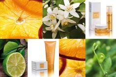 Gamme de produits Lime à la vitamine C de Vagheggi conçue pour raviver, hydrater, nourrir et illuminer le teint.
