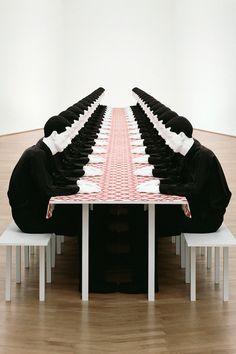 Katharina Fritsch - Sculpture - The Dinner Party Herbert List, Annie Leibovitz, Ellen Von Unwerth, Richard Avedon, Ansel Adams, Claude Monet, Banksy, Picasso, Tom Ford