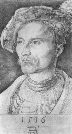 Portrait of a Man, Durer 1516