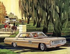 1962 Oldsmobile 98 Holiday Sports Sedan