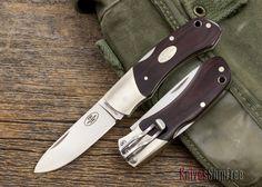Fallkniven: FH9 - Maroon Linen Micarta - Laminated CoS Steel