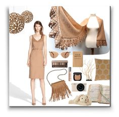 """""""Dream of Caramel"""" by ixela ❤ liked on Polyvore"""
