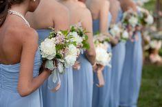 Long Light Blue Bridesmaid Dresses