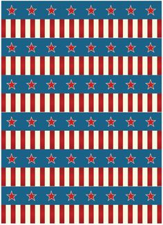 FREE July Party Printables from Frog Prince Paperie July Background, Circus Background, Patriotic Background, I Love America, Let Freedom Ring, Cute Wallpaper For Phone, Party Printables, Free Printables, Patriotic Decorations