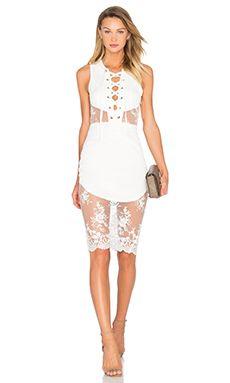 NBD Voyage Dress in Ivory | REVOLVE