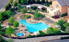 The perfect place to relax after a treatment at Lantana Spa - JW Marriott San Antonio