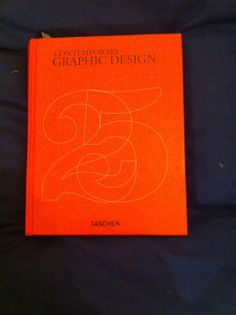 Love the typography on the cover of my Contemporary Graphic Design Book.