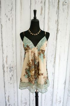 'Kimchi Blue' Boho Floral Baby Doll Tunic  - $27  size Large,  is available in my #threadflip closet!