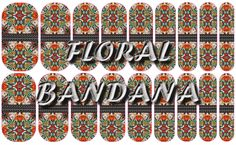 Floral Bandana https://www.facebook.com/groups/591626840995499/