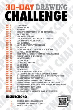 30 Day Drawing Challenge – Lynette