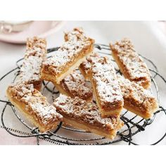 Caramel streusel slice recipe
