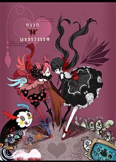 Homulily and Charlotte Madoka Magica anime