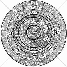 Mexican tattoos, inspired by Mayan, Inca and Aztec art, are very different from most other types of tattoo designs. Read on to learn more about the meaning and origins of Mexican and Aztec tattoos. Mayan Tattoos, Tribal Tattoos, Octopus Tattoos, Tatoos, Nice Tattoos, Leg Tattoos, Maya Art, Aztec Tattoo Designs, Tattoo Patterns