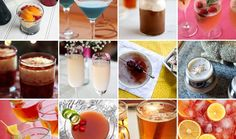 12 Naughty Holiday Cocktails via Brit + Co. Holiday Cocktails, Cocktail Drinks, Fun Drinks, Yummy Drinks, Holiday Parties, Holiday Fun, Alcoholic Drinks, Beverages, Virgin Party Drinks