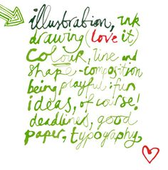 Jill Calder Lettering World Of Color, Lettering, Drawings, Illustration, Fish, Artists, Colour, Type, Green