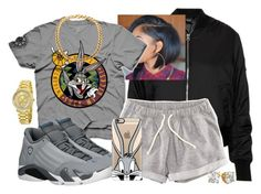 """""""Eh Dok ! (Bugs Bunny)"""" by china-dolly on Polyvore featuring Topshop, Bordeaux, H&M, Retrò, Michael Kors and Casetify"""