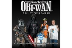 Reminder: Rancho Obi-Wan T-Shirt Fundraiser Ends Nov 28th! Star Wars Collection