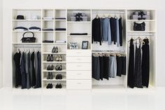 Ideas small closet solutions diy bedrooms for 2019 Custom Closet Design, Custom Closets, Wardrobe Design, Closet Designs, Bedroom Designs, Ikea Closet Organizer, Closet Storage, Closet Organization, Wall Storage