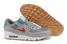 info for 4f03a 091b2 Authentique Nike Air Max 90 Essential Neutral Gris Team Rouge Homme Air Max  Thea, Air