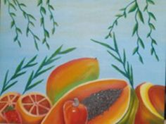 """""""Mistura de frutas"""" óleo"""