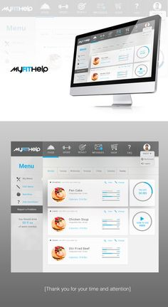 Create design for Fitness themed website. by kaleab