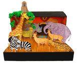 African Savanna Habitat Diorama