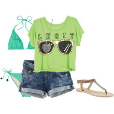 love this cropped shirt :) wear it all summer
