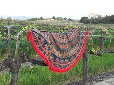 Indian tapestry round beach blanket mandala by TheFoxAndTheMermaid