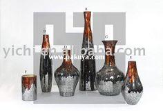 mosaic glass bottles & vases - Google Search