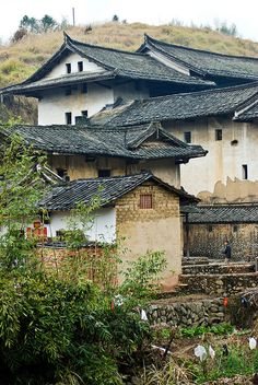 Triangles, A Village in Fujian Province, China