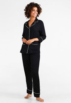 DOT SET - Pyjamassett - black