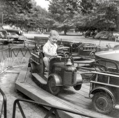 Riverview Beach Amusement Park on the Delaware River in Southern New Jersey (1948)