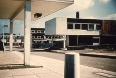 """photourbanism: """"Pasmore Housing, Peterlee (by The JR James Archive, University of Sheffield) """" Architecture Journal, Council Estate, Chemistry Set, University Of Sheffield, New York To Paris, British Architecture, Town And Country, Brutalist, Modern Buildings"""
