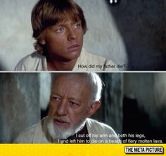 srsfunny:  Come On Obi-wan Tell The Truth