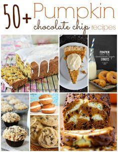 Pumpkin Chocolate Chip Recipes
