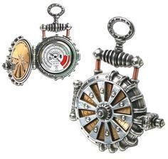 7 Wonderfully Unique Steampunk Pocket Watches – Steampunk District ...