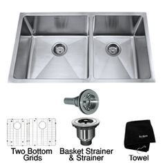 Single bowl kitchen sink, Kitchen sinks and Sinks on Pinterest