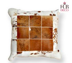 Fur Deco | hair on pillow 50x50