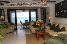 1st floor living area in Playa del Secreto.