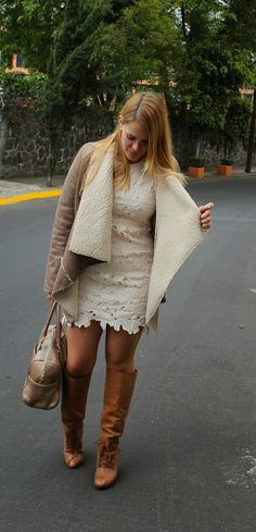 Lace a perfect look for winter