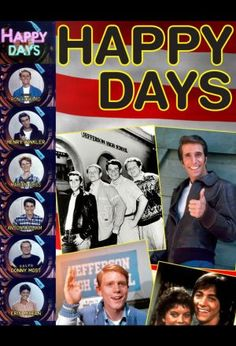 Locandina del film Happy Days