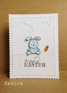 Dreamed Up Designs: Mama Elephant Challenge - Hoppy Easter
