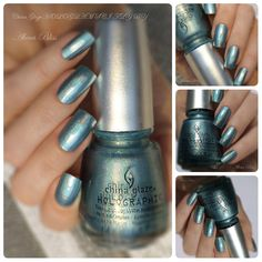 colourful inspiration: China Glaze HOLOGLAM - SCI-FLY BY
