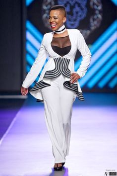 Khosi Nkosi at Mercedes Benz Fashion Week Joburg SS 2016 Big Girl Fashion, Trendy Fashion, Fashion Outfits, Womens Fashion, Xhosa, Tribal Dress, Batik Dress, Pageant Dresses, Knee Length Dresses