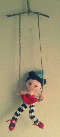 amigurumi trapeze