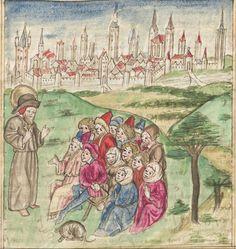 Meisterlin, Sigismundus / Mülich, Hektor: Augsburger Chronik -  SuStB Augsburg 2 Cod H 1 - 1457 -  Folio 143