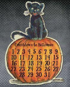 Halloween Countdown Calendar |