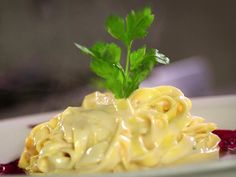 """Tagliatelle del """"Magnifico"""" recipe from Diners, Drive-Ins and Dives via Food Network"""